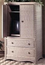 Wicker Corner Tv Stand Swivel Top Tv Cabinet Wide