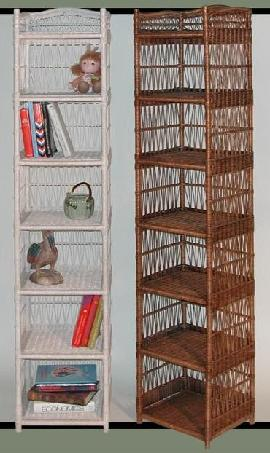 tall narrow shelves