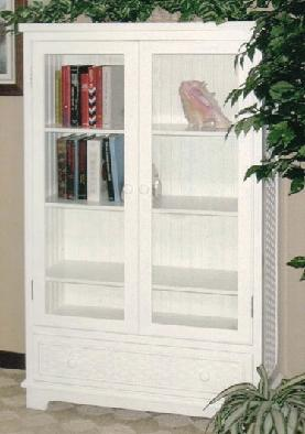 double door bookcase stock #4284L