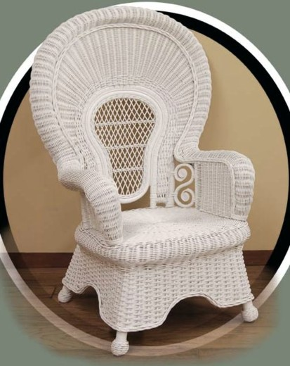 classic wicker chair #5008