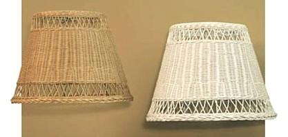 wicker shades