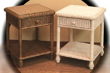 wicker night stands