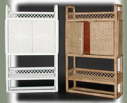 wicker wall shelf wicker bathroom cabinet